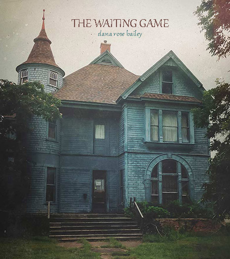 The waiting game cover with creepy old Victorian house